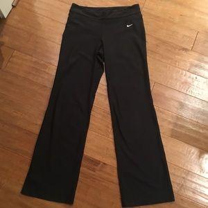 Medium Tall Nike Dri-Fit bootcut leggings